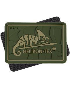 Helikon Logo PVC Patch - Olive Green