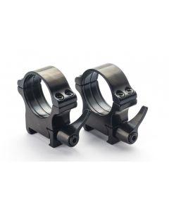 Rusan Steel Quick-Release Picatinny & Weaver rings - 1 Inch