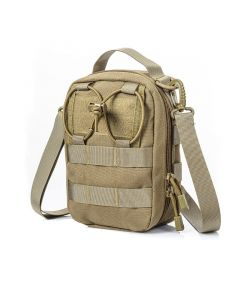 Territory Supply Tactical Molle Shoulder Bag/Pouch - Khaki