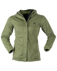 Ridgeline Ladies Ascent Softshell Field Jacket - Olive