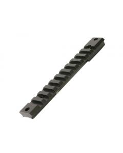 Warne Tactical Steel Picatinny Rail, Win 70 SA Flat