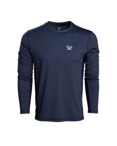 Vortex Men's Day Rucker Performance Long Sleeve T-Shirt - Crown Blue