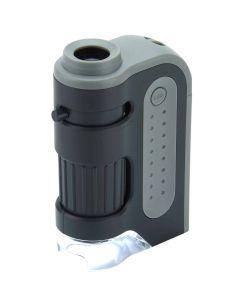 Carson 60-120x LED MicroBrite Plus Pocket Microscope