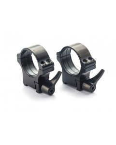 Rusan Steel Roll-off Quick- Release rings - CZ 527 or BRNO Fox - 30 mm, Height 23mm