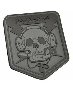 Hazard 4 Operator Skull Morale Patch - Black