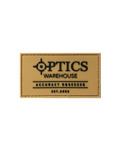 Optics Warehouse Essentials Patch - Tan