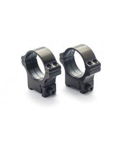 Rusan Steel Roll-off rings - CZ 527 or BRNO Fox - 30 mm, Height 23mm
