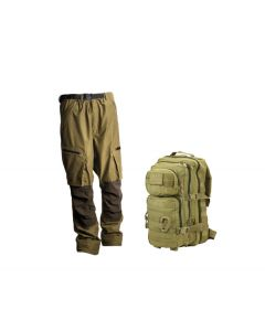 Ridgeline Pintail Explorer Pants - Teak