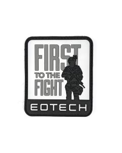 EOTech First to the Fight Velcro Patch - Black/White/Grey
