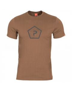 Pentagon Shape T-Shirt - Coyote