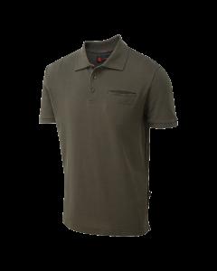 Shooter King Brown Polo Shirt