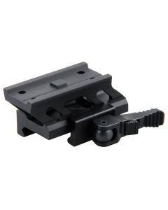 Vector Q/D Cantilever Riser Mount fits Vector Maverick and Aimpoint T-1 Red Dots