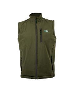 Ridgeline Talon Soft Shell Vest - Moss Green 3XL