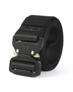 Territory Supply Quick Release Nylon Tactical Webbing Waist Belt - Black