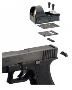 Delta Mini Dot HD mount for Glock 9mm