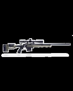 MDT Oryx Ruger American Right Hand AICS Rifle Stock - Black/OD Green - Optics Warehouse