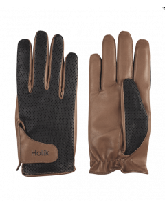 Holik Kimberly Fingers Gloves - Brown