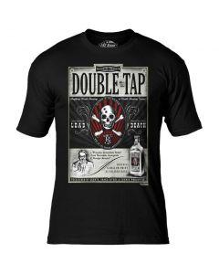 7.62 Design Double Tap Black T-Shirt