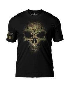 7.62 Design Camo Skull T-Shirt