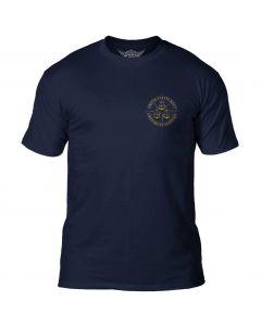 7.62 Design USN Chiefs GOAT Locker Navy T-Shirt