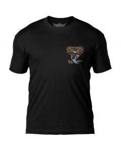 7.62 Design USN Fighting Eagle Black T-Shirt