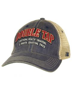 7.62 Design Double Tap Trucker Cap Navy
