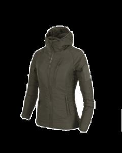Helikon Women's Wolfhound Hoodie Jacket - Taiga Green