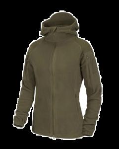Helikon Women's Cumulus Heavy Fleece Jacket - Taiga Green