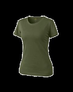 Helikon Women's Cotton T-Shirt - Olive Green