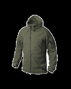 Helikon Patriot Double Fleece Jacket - Olive Green