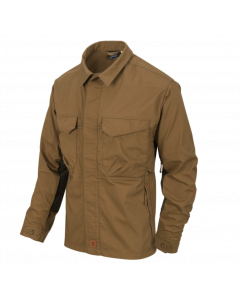 Helikon Woodsman Shirt - Coyote / Taiga Green A