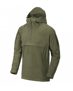 Helikon Mistral Anorak Soft Shell Jacket - Adaptive Green