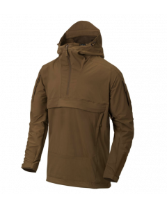 Helikon Mistral Anorak Soft Shell Jacket - Mud Brown
