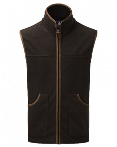ShooterKing Performance Fleece Gilet - Brown