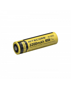 Nitecore 3200mAh 18650 Pip Top Rechargeable Battery