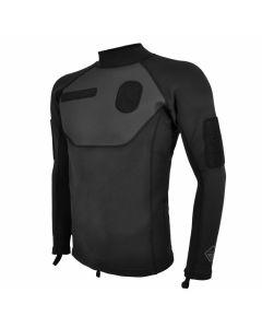 Hazard 4 Skin-Diver ID Neoprene Shirt - Black - Large