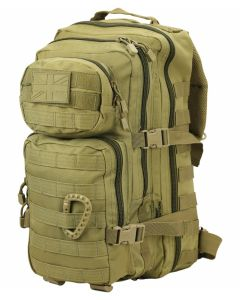 Kombat UK Small Molle 28 Litre Assault Pack - Coyote