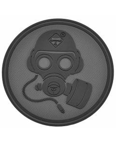 Hazard 4 Special Forces Gas Mask Morale Patch - Black