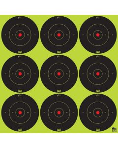 "Pro-Shot 2"" Peel & Stick - Green SplatterShot® Bullseye"