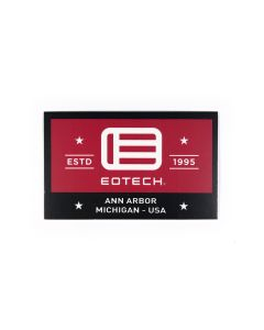 EOTech Estd 1995 Logo Sticker - Black/White/Red