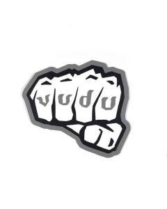 EOTech Vudu Fist Sticker - Grey/White