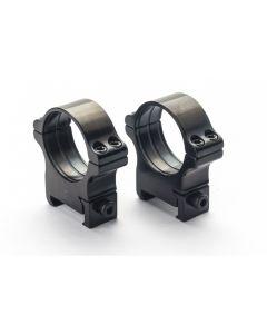 Rusan Steel Picatinny & Weaver rings - 34 mm, Height 24mm