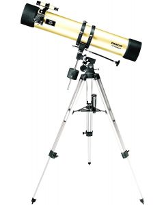 Tasco Luminova 114x900mm Gold, Reflector, 675x Mag, 6x24 Telescope