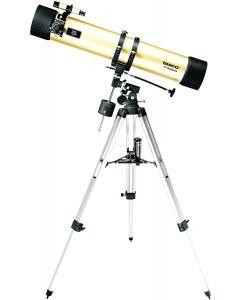 Tasco Luminova 114x900mm Gold, Reflector, 675x Mag, 6x24 Telescope