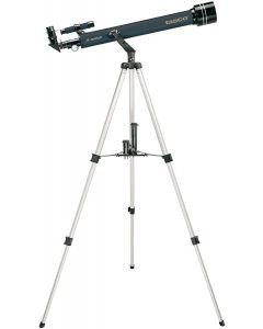 Tasco Novice 60x700mm Blue Refractor, 402xMag, 6x24 Telescope