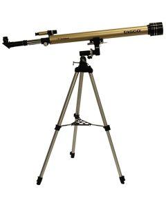 Tasco Luminova 60x900mm Gold, Refractor, 675x Mag, 6x24 Telescope