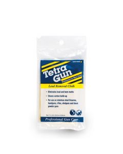 Gun Lead Removal Cloth Blue/Yellow