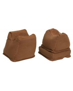The Outdoor Connection Brown 3 Piece Bench Rest Bag Trio (Unfilled)