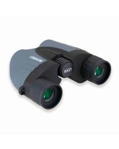 Carson Tracker 8x21mm Compact Binoculars - Clam