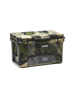 Utoka 45 Portable Hard Travel Cooler - 42 Litre